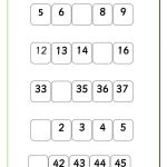 thumbnail of missing-number-sequence-1-TO-50