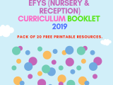 EFYS CURRICULUM BOOKLET 2019