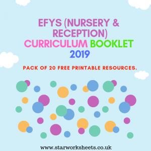 EFYS CURRICULUM BOOKLET 2019