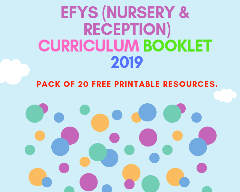 EYFS(Reception) Worksheets PDF